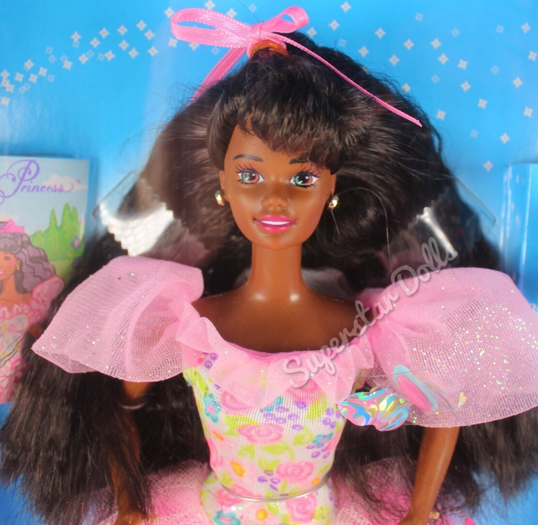 1994 Butterfly Princess African American (AA) Barbie doll