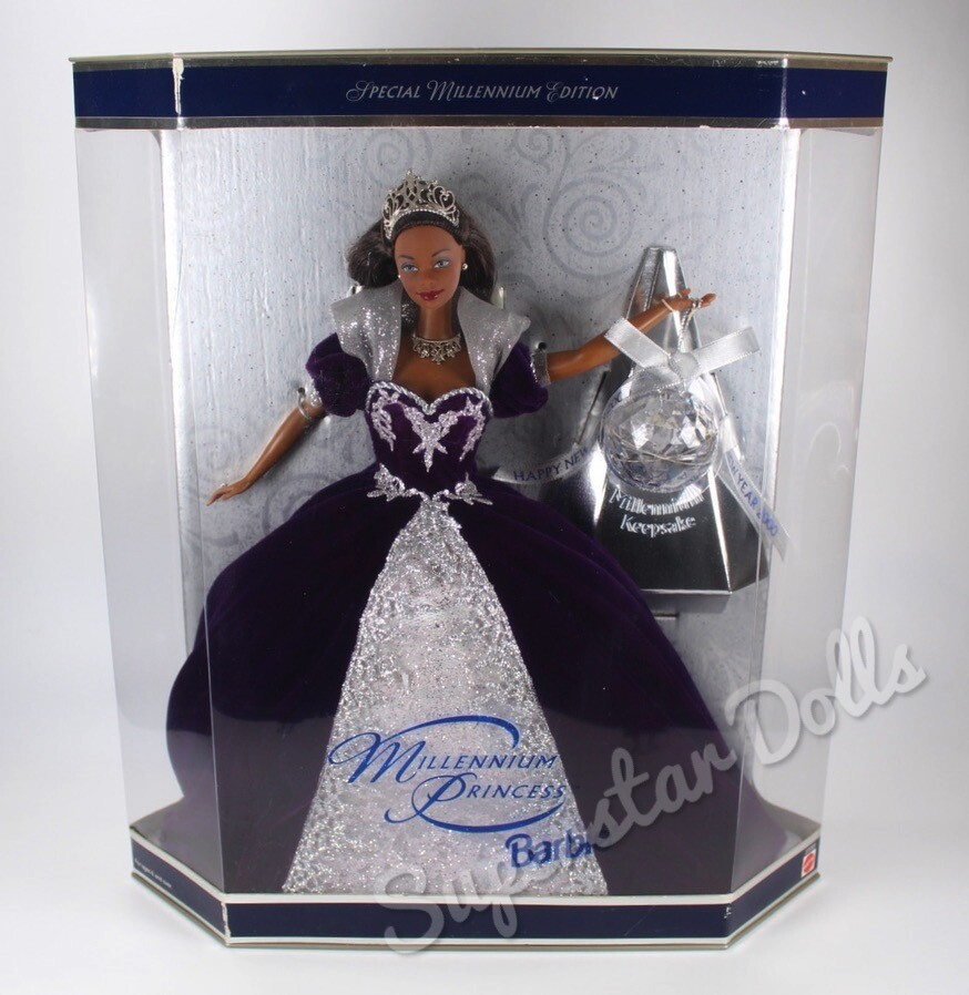 1999 Special Edition: Millennium Princess African American (AA) Barbie Doll