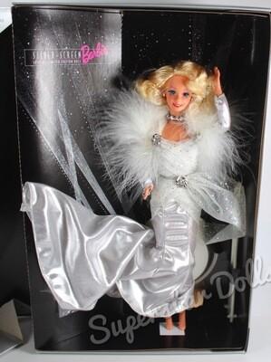 1993 F.A.O Schwarz Special Edition Silver Screen Barbie Doll