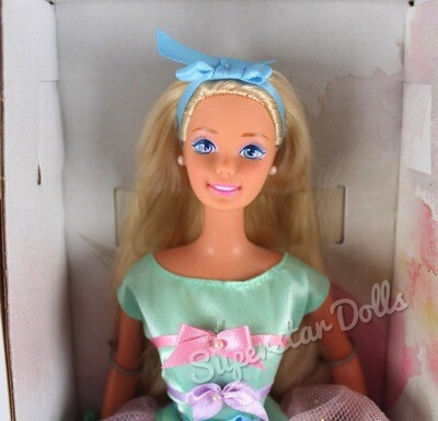 1997 Special Edition: Avon Spring Tea Party (Blonde) Barbie Doll