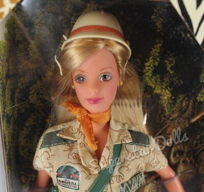 1998 Disney Exclusive: Animal Kingdom Barbie Doll