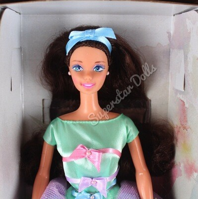 1997 Special Edition: Avon Spring Tea Party (Brunette) Barbie Doll