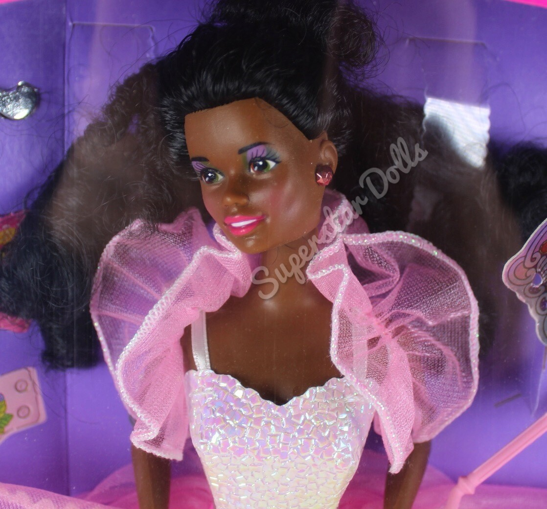 1990 Costume Ball African American (AA) Barbie Doll