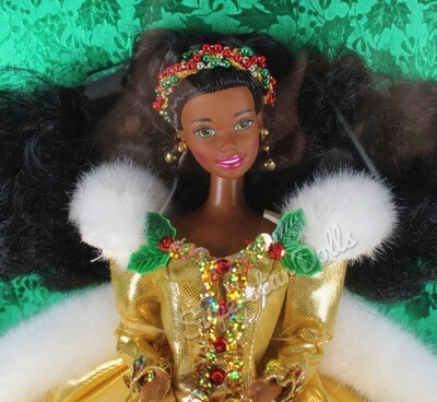 1994 Special Edition: Happy Holidays African American (AA) Barbie Doll