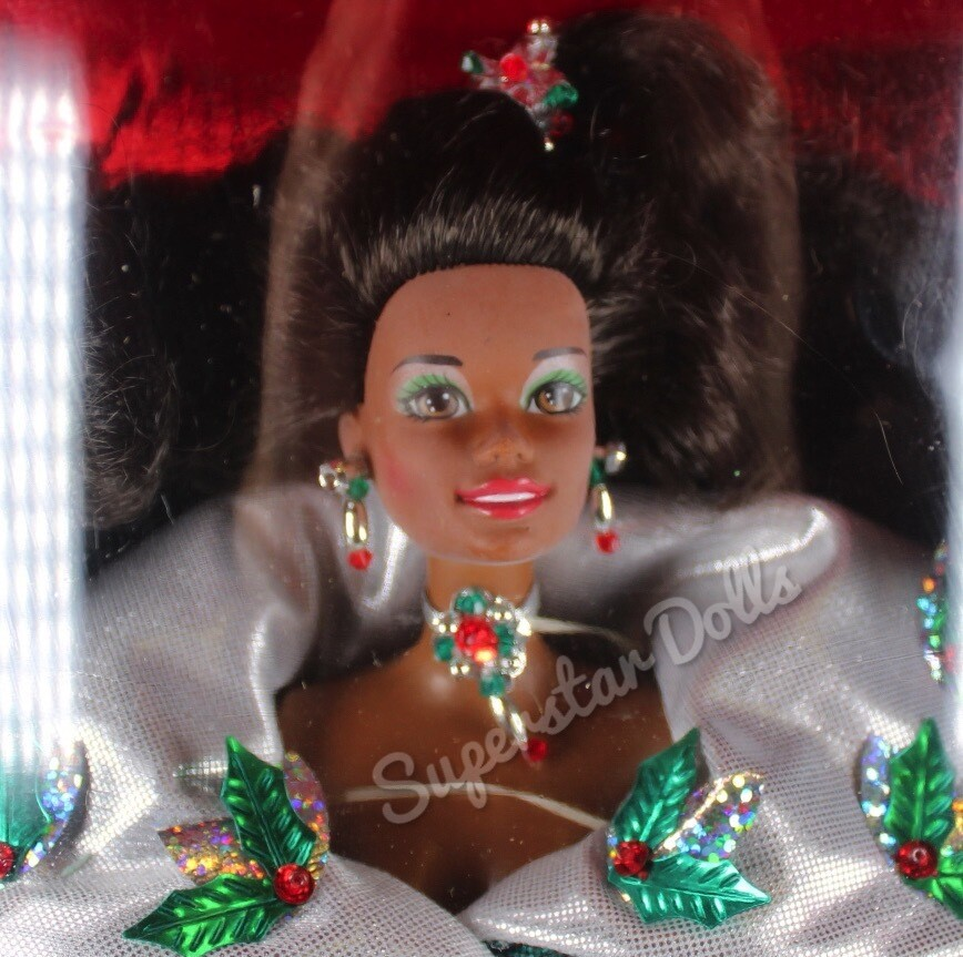 1995 Special Edition: Happy Holidays African American (AA) Barbie Doll