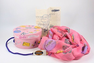 1994 Limited Edition: 35th Anniversary Barbie Adult Scarf by Fossil
