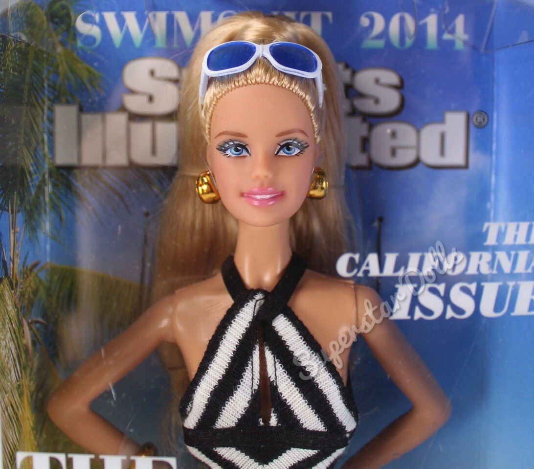 """2013 Black Label: Sports Illustrated """"The Doll that Started it all"""" Barbie Doll"""