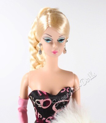 2003 Gold Label: 45th Anniversary DE-BOXED Silkstone Barbie Doll from the BFMC