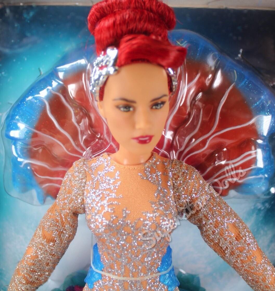 2018 DC Comics: Aqua Man Royal Gown Mera Doll By Mattel