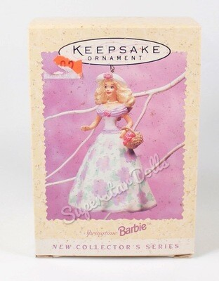 1995 Springtime Barbie Hallmark Keepsake Ornament