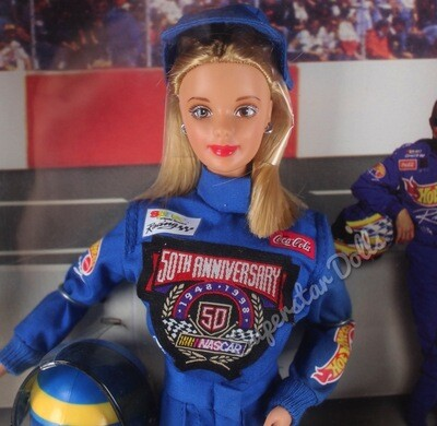 1998 Collector Edition: 50th Anniversary Nascar Barbie Doll