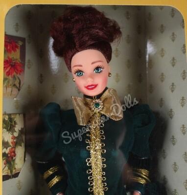 1996 Hallmark Special Edition Yuletide Romance Barbie Doll