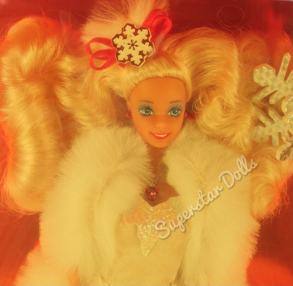 1989 Special Edition Happy Holidays Barbie Doll