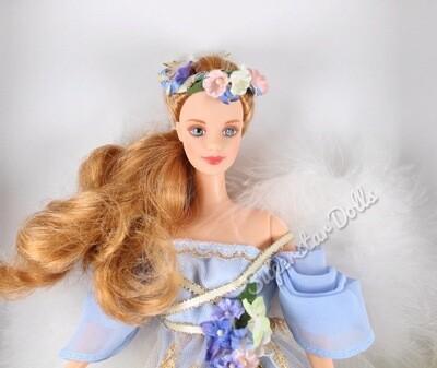 1997 Collector Edition Harpist Angel Barbie Doll