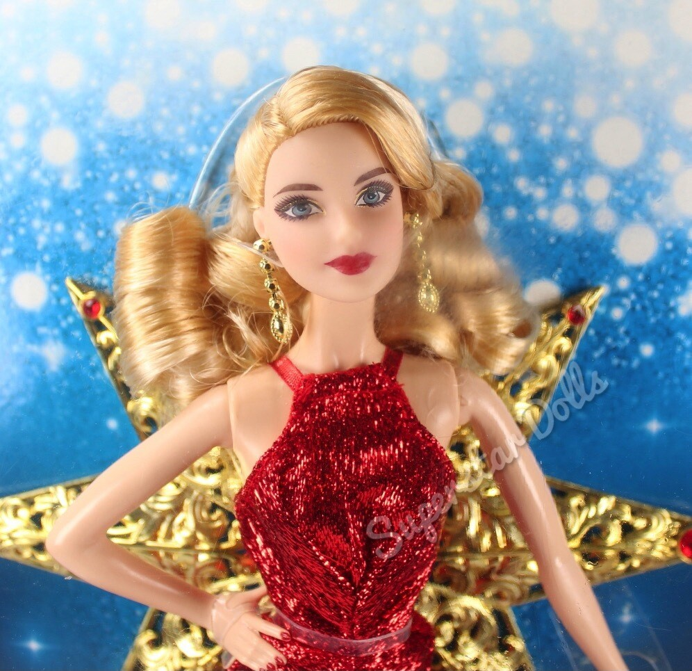 2017 Blonde Holiday Barbie Doll