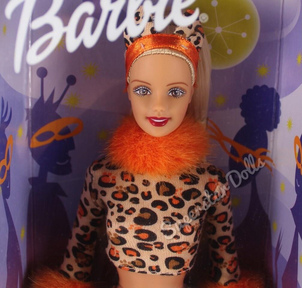 2002 Maskerade Party Halloween Barbie Doll