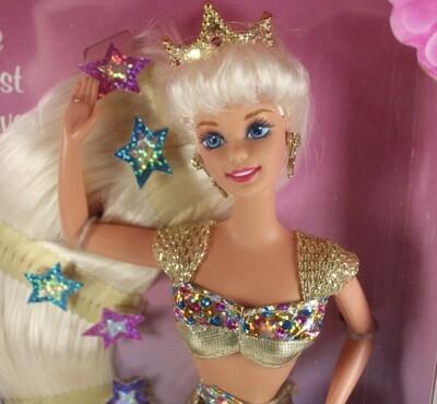 1995 Jewel Hair Mermaid Barbie Doll