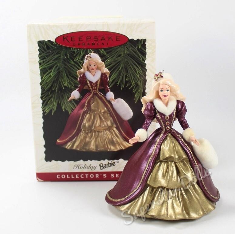 1996 Happy Holidays DE-BOXED Hallmark Keepsake Ornament