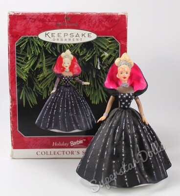 1998 Holiday Barbie DE-BOXED Hallmark Keepsake Ornament