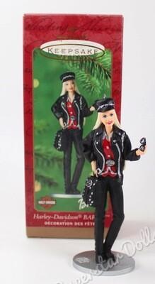 2000 Harley-Davidson Barbie DE-BOXED Hallmark Keepsake Ornament