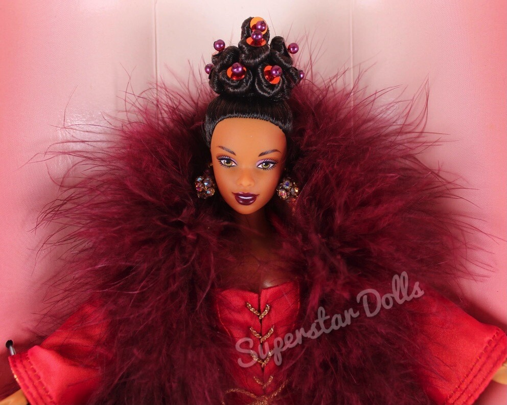 1998 Limited Edition: Byron Lars Cinnabar Sensation African American (AA) Barbie