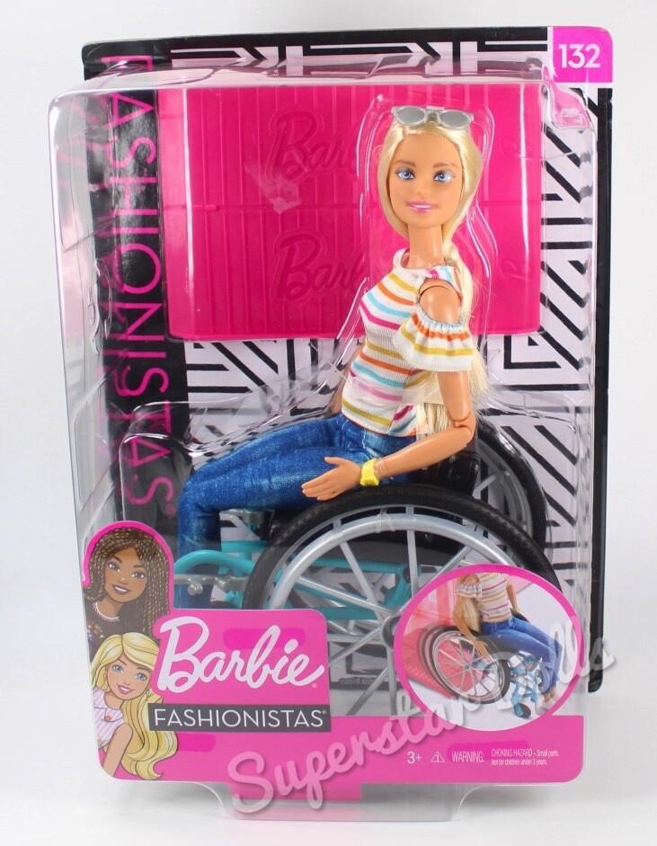 2018 Fashionista #132 Barbie Doll