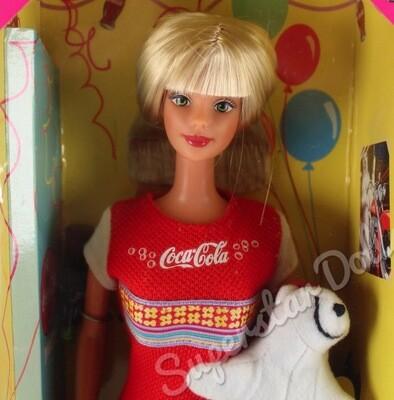 1998 Coca-Cola Party Barbie Doll