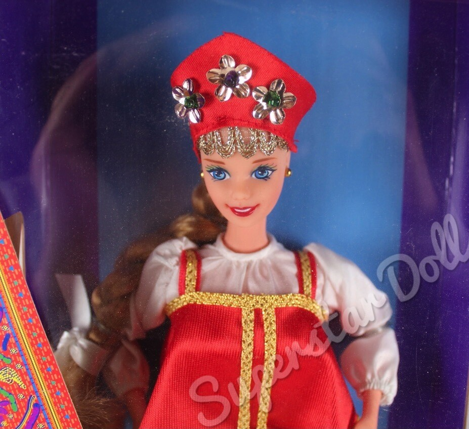 1996 Russian Barbie Doll from the Dolls of the World Collection
