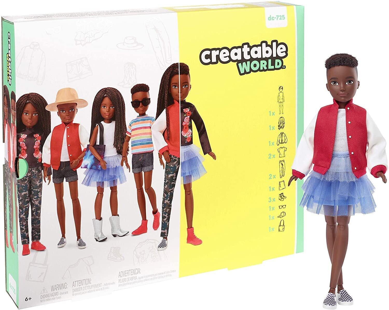 Creatable World Deluxe Character Kit