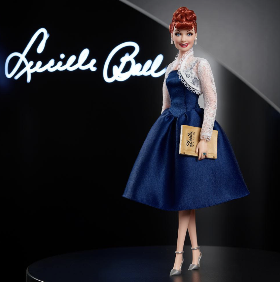 2021 Black Label: Lucille Ball Barbie Tribute Collection Doll PRE-ORDER