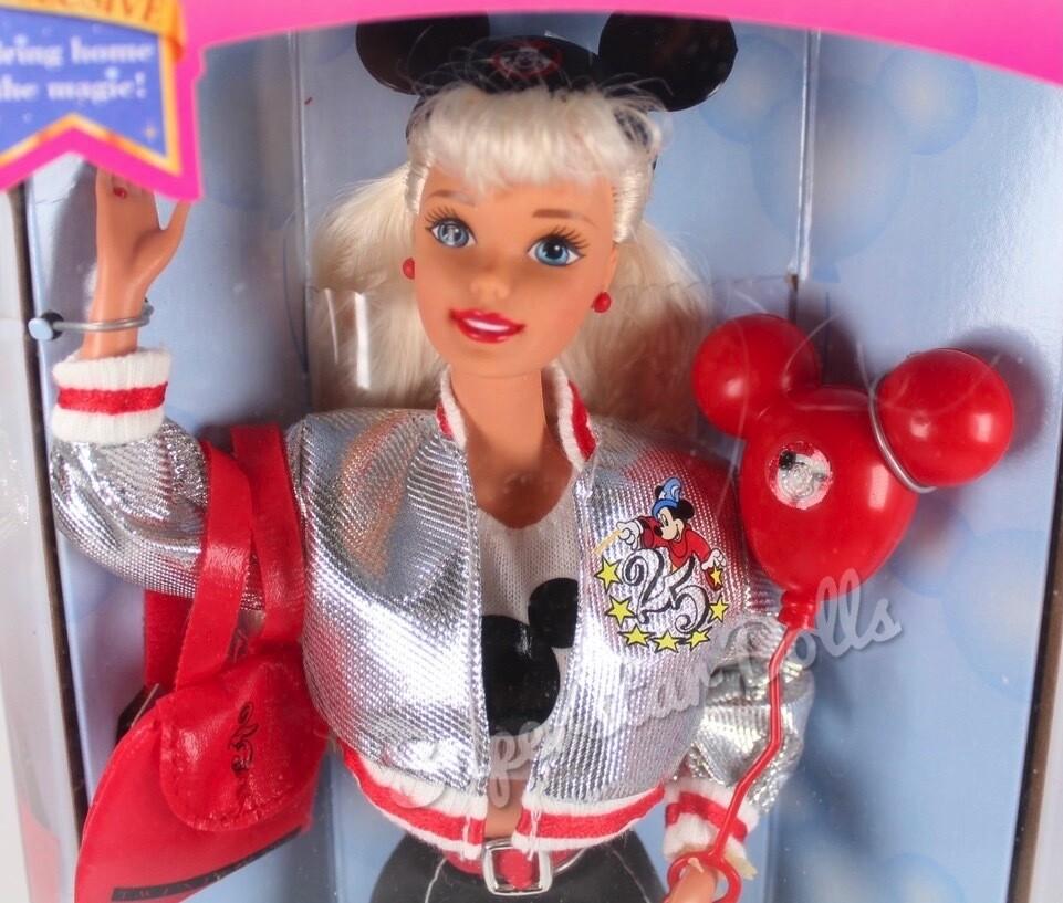 1996 Special Edition: 25th Anniversary Walt Disney World Barbie Doll