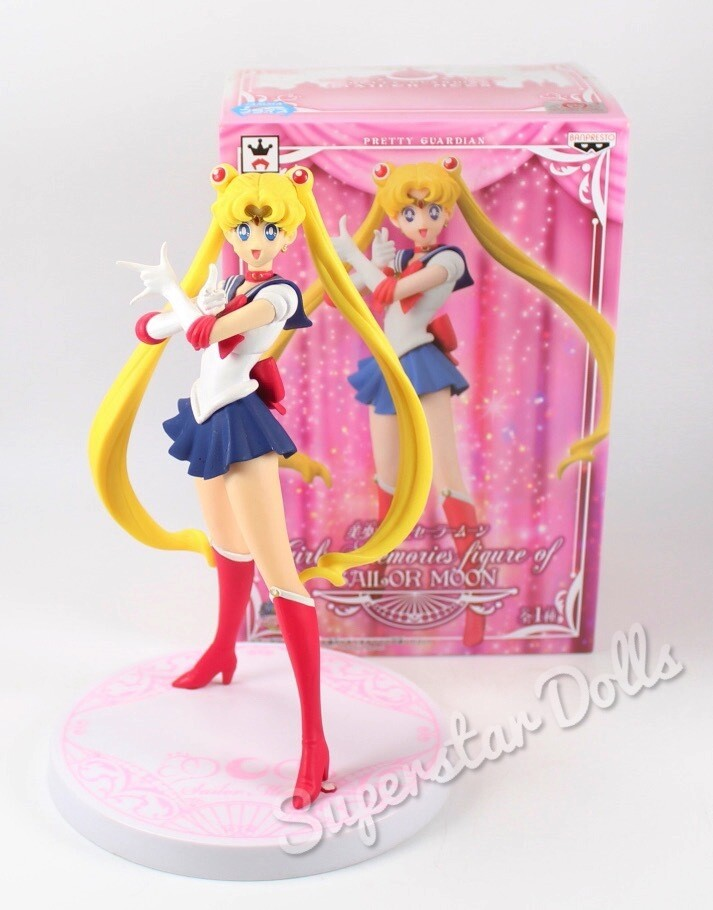 2014 Pretty Guardian Girls Memories 18cm DE-BOXED Figure of Sailor Moon by Bandai