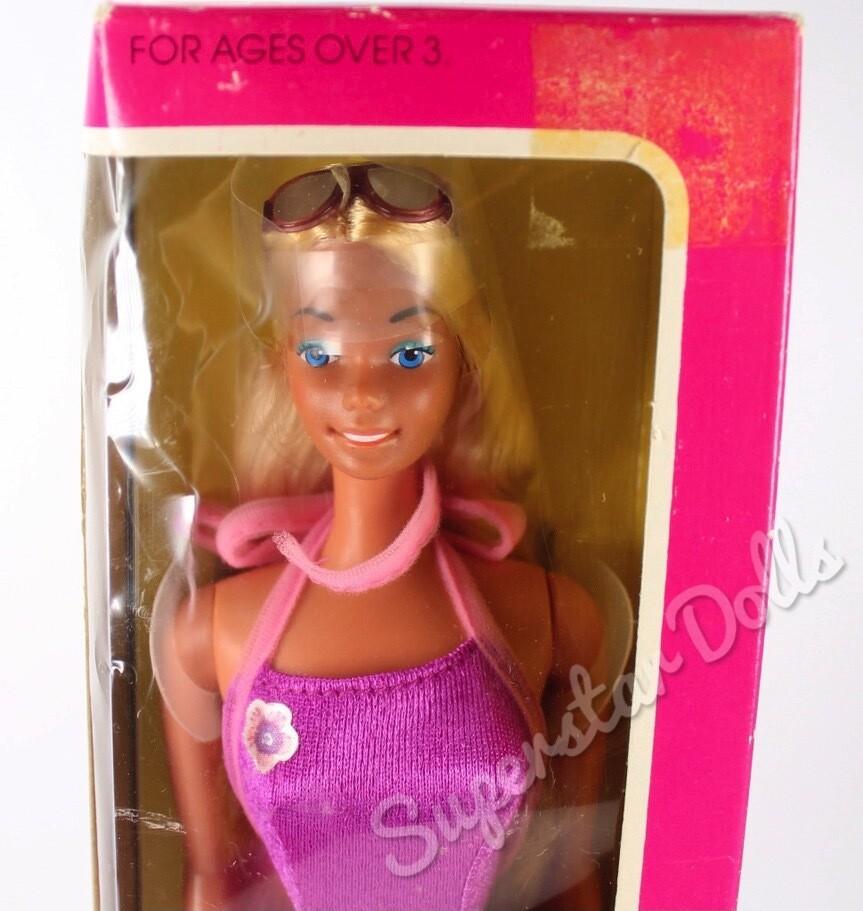 1981 Sunsational Malibu Barbie