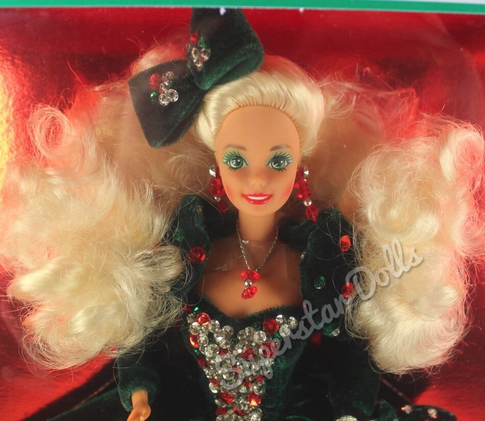 1991 Special Edition Happy Holidays Barbie Doll