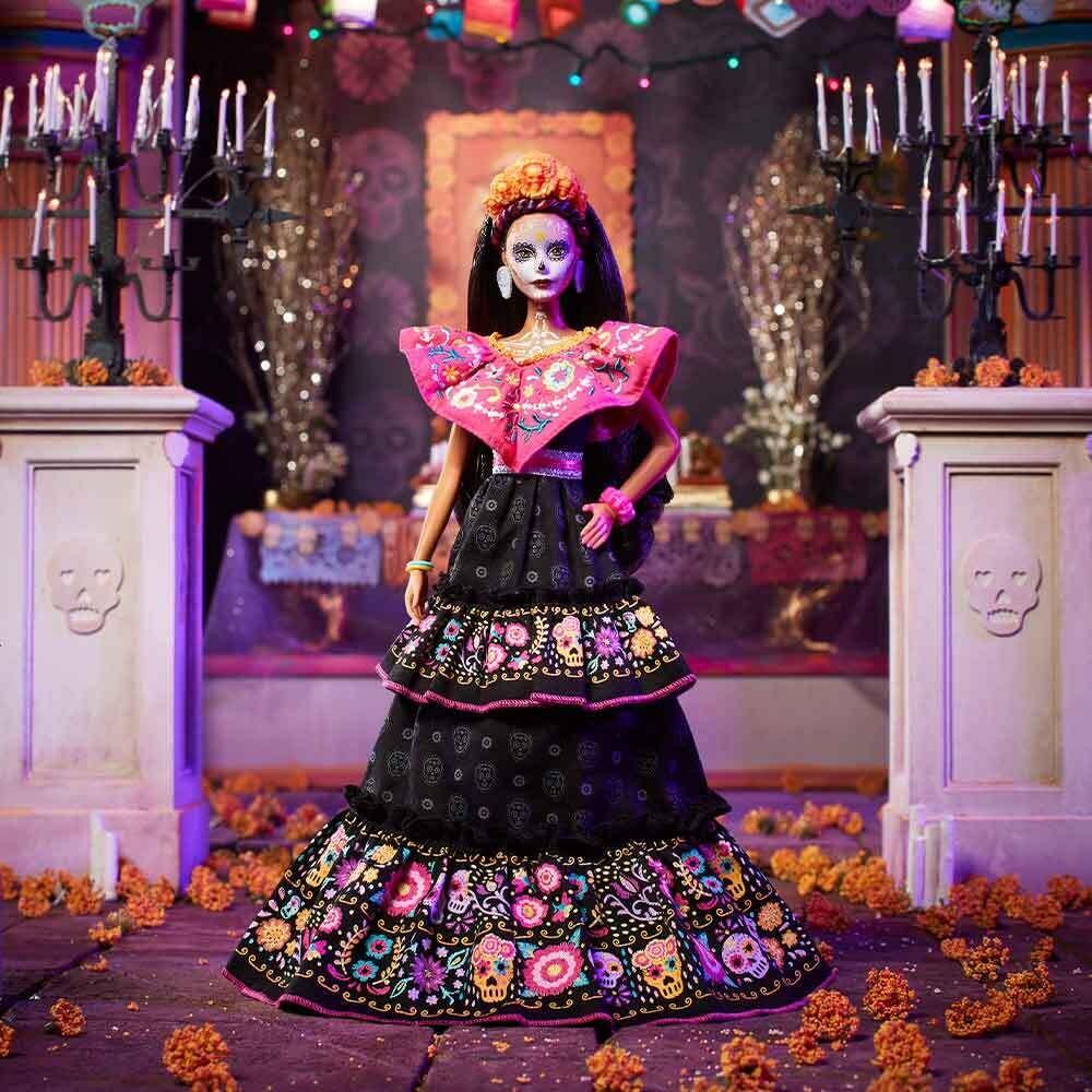 2021 Black Label: Dia De Muertos Barbie Doll