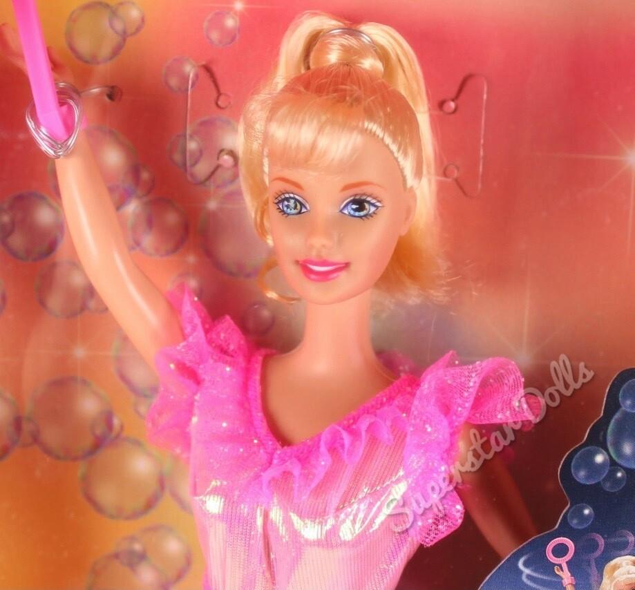 1998 Bubble Fairy Barbie Doll