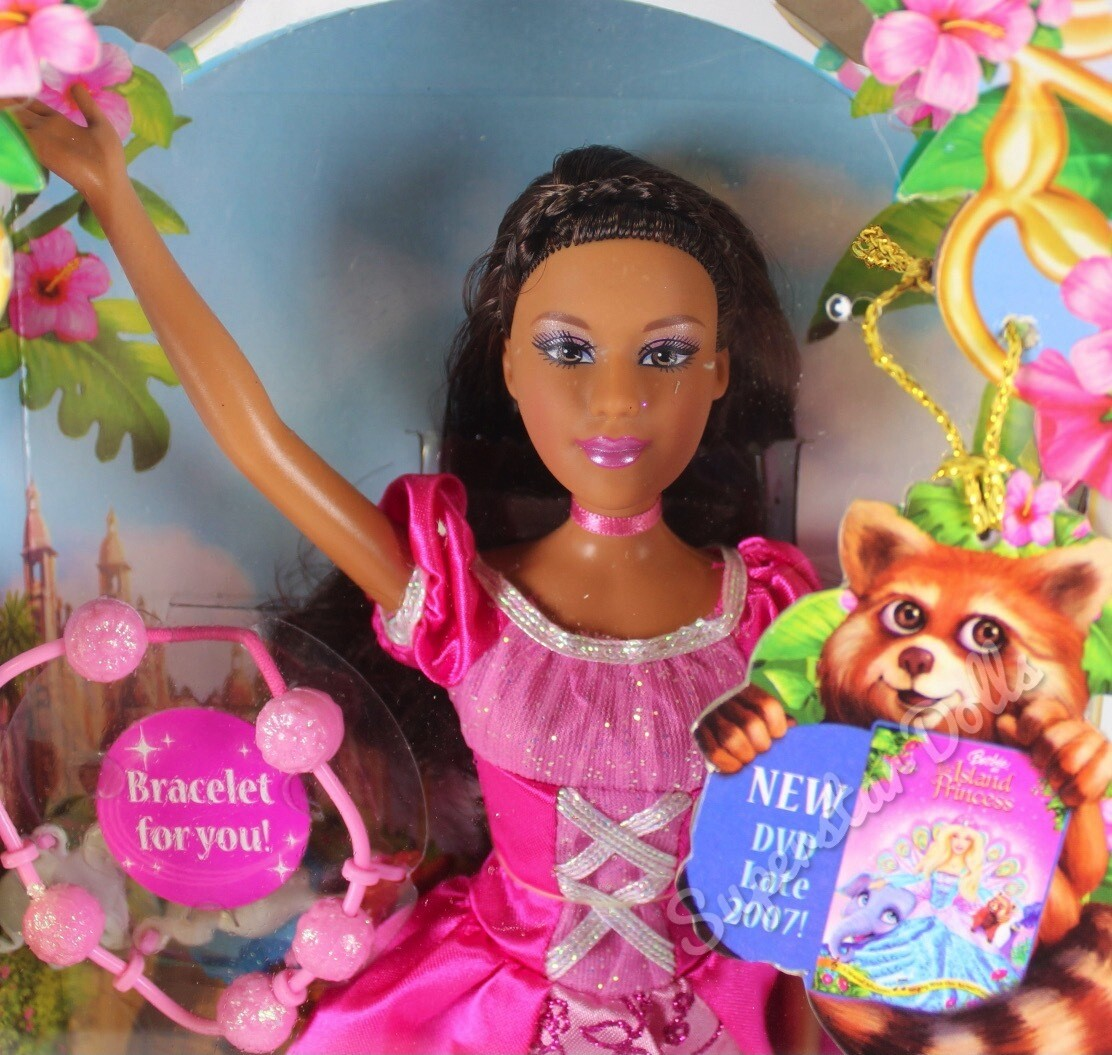 2007 Barbie as the Island Princess African American Doll