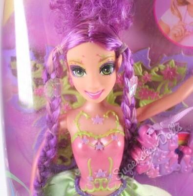 2006 Magic of the Rainbow FairyTopia Glee Barbie Doll