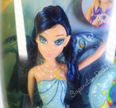 2006 Magic of the Rainbow FairyTopia Lumina Barbie Doll