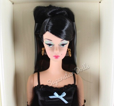 2000 Gold Label: Lingerie #3 Silkstone Barbie Doll from the BFMC