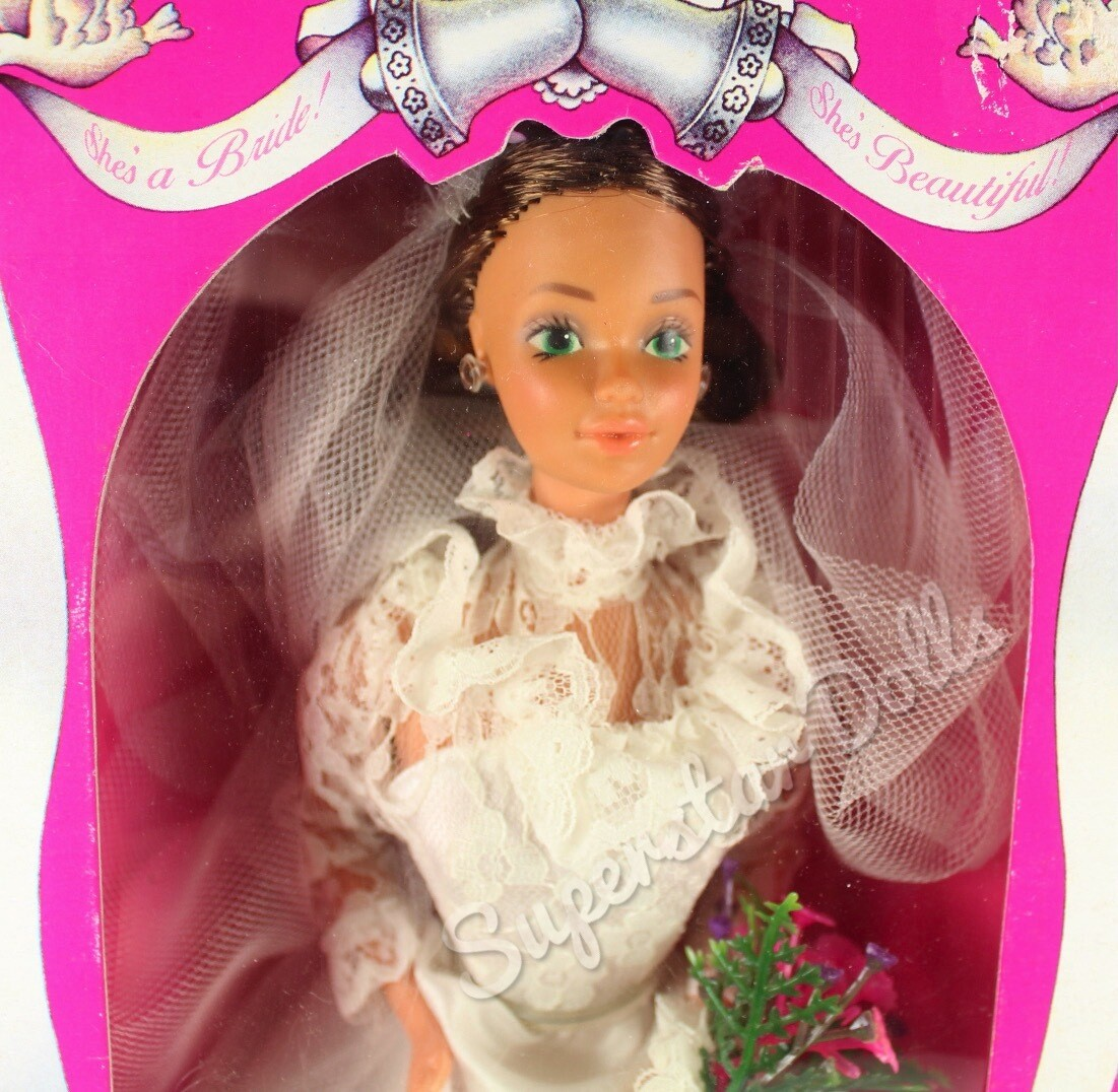 1982 She's a bride Tracey Barbie Doll