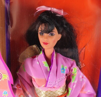 1995 Japanese Barbie Doll from the Dolls of the World Collection