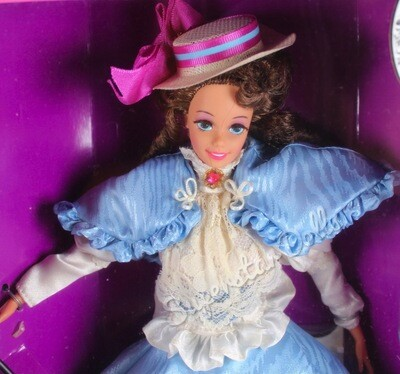 1993 Collector Edition: Gibson Girl Barbie Doll from the Great Eras Collection