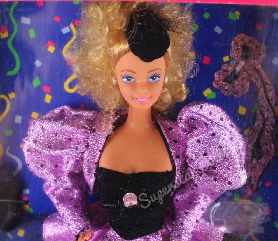 1987 Mardi Gras Barbie Doll