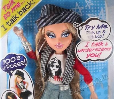 "2000's Era Let's Talk Cloe 12"" Bratz Fashion Doll"