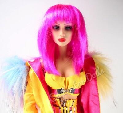 "Superdoll London: The Sybarites ""Mikado"" Gen X Vinyl BJD DE-BOXED Dressed 16"" Fashion Doll"