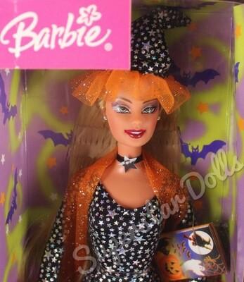 2003 Halloween Enchantress Barbie Doll