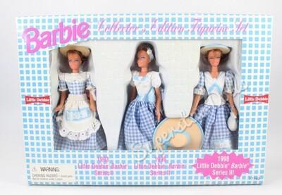 1997 Little Debbie Miniature Barbie Doll Gift-Set