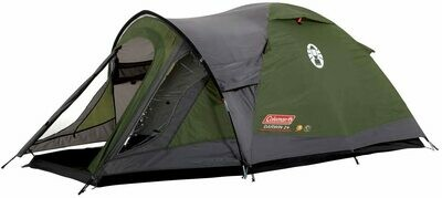 Compact Dome Tent,, 100 Percent Waterproof HH 3000 mm, Sewn-in Groundsheet