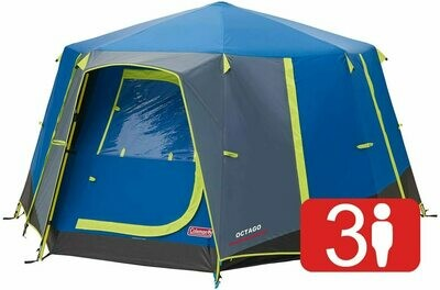 3 to 6 Man Festival Dome Tent,